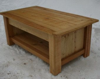 Reclaimed Coffee Table by UpperLeftFurniture on Etsy