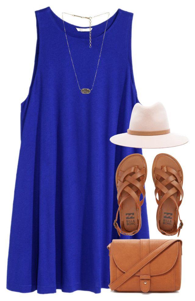 #summer #outfits / Blue Halter Dress + Lace Sandals