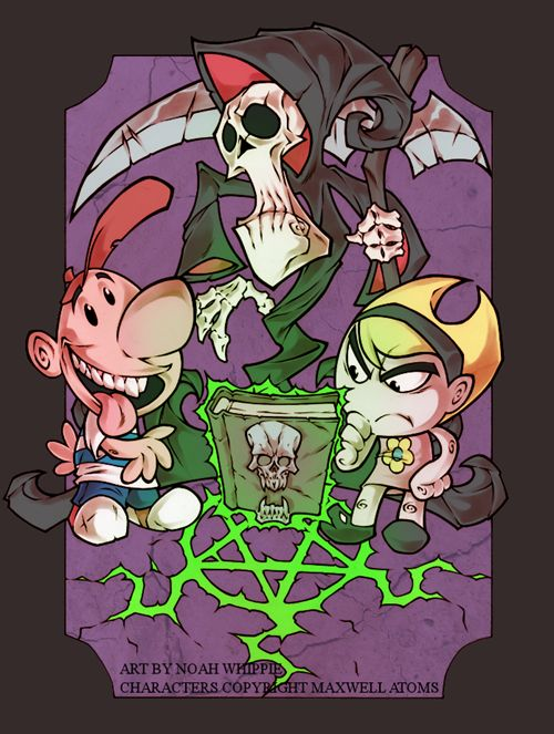The creator of The Grim Adventures of Billy and Mandy has a Kickstarter called 'DEAD MEAT'