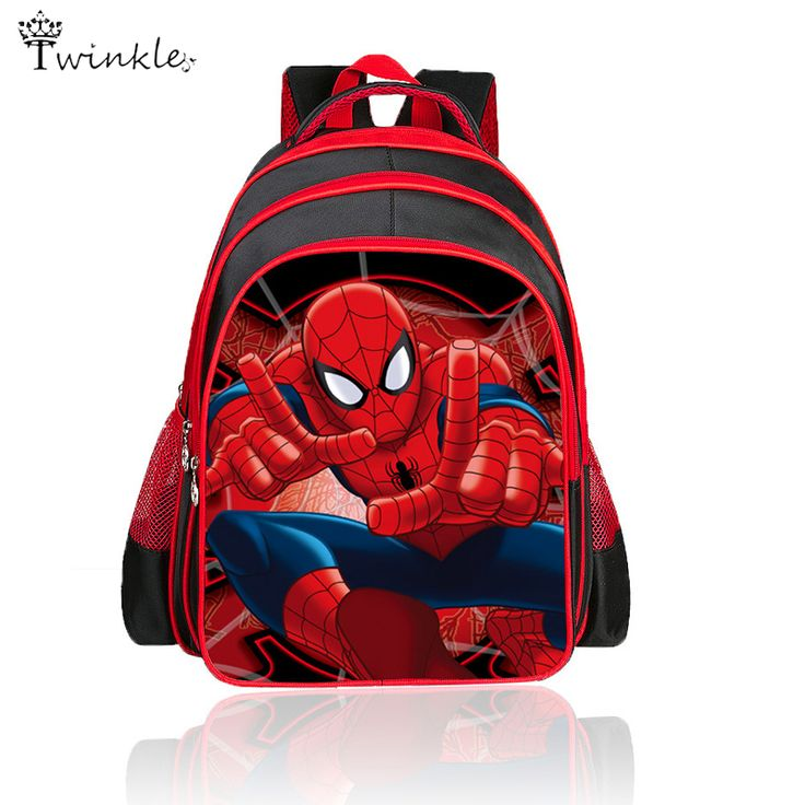 $21.14 (Buy here: https://alitems.com/g/1e8d114494ebda23ff8b16525dc3e8/?i=5&ulp=https%3A%2F%2Fwww.aliexpress.com%2Fitem%2FSchool-bags-Cartoon-cartoon-bags-Spiderman-Backpacks-For-Kids-Children-School-Bags-Primary-sport-Backpack%2F32600917538.html ) School bags Cartoon cartoon bags Spiderman Backpacks For Kids Children School Bags Primary back to school Boy mochilas 3d for just $21.14