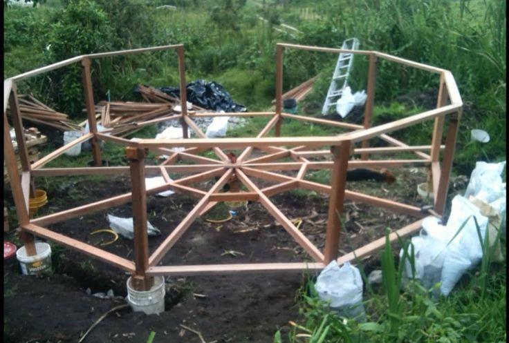 Vivienda Ecológica Autosustentable Permacultural - Construcción Domo Apa...