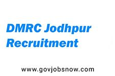 DMRC JODHPUR has published latest recruitment notification for various posts. Eligible candidates can apply for DMRC JODHPUR jobs by filling up given recruitment/application forms.