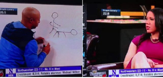 ESPN's Jay Williams Accidentally Draws NSFW Image Of Two Stick Figures Having Sex On Live TV - http://viralfeels.com/espns-jay-williams-accidentally-draws-nsfw-image-of-two-stick-figures-having-sex-on-live-tv/