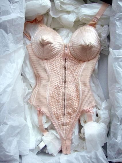 The original Jean Paul Gaultier bustier for Madonna 1991.