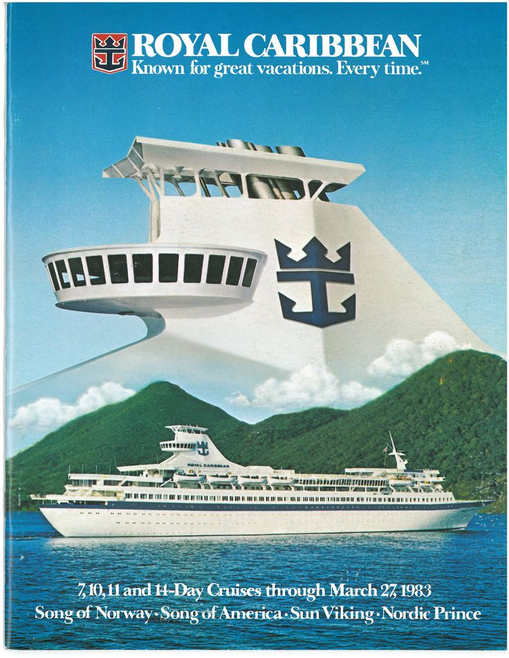 Photo vintage #RoyalCaribbean #Croisieres #Navire #RoyalWOW