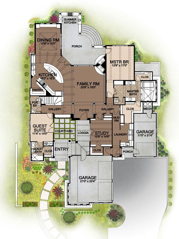55 best images about house plans on pinterest house for House plans with future expansion