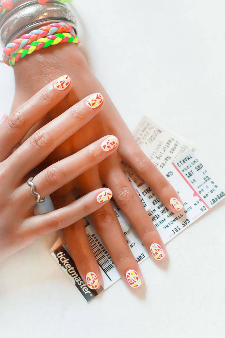 Grab those #festival tickets with your freshly pained nails and go!