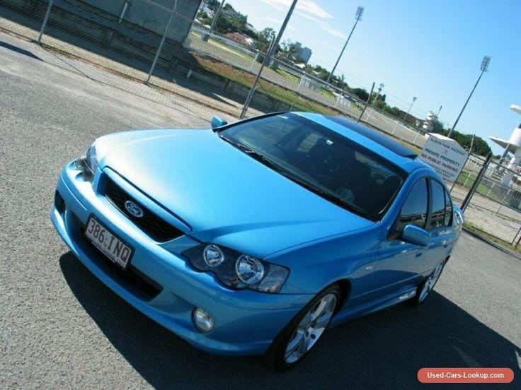 2005 Ford Falcon BA MkII XR6 Blue Automatic 4sp Auto Seq Sportshift Sedan #ford #falcon #forsale #australia