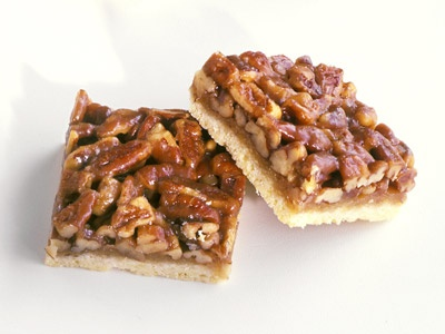 Honey Pecan Squares | Cakes and Bars | Pinterest