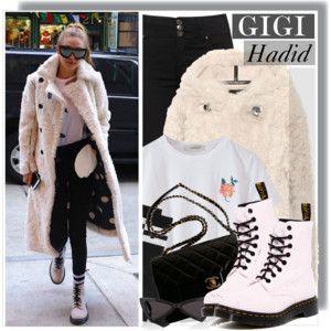 Gigi Hadid in Acne Studios Coat