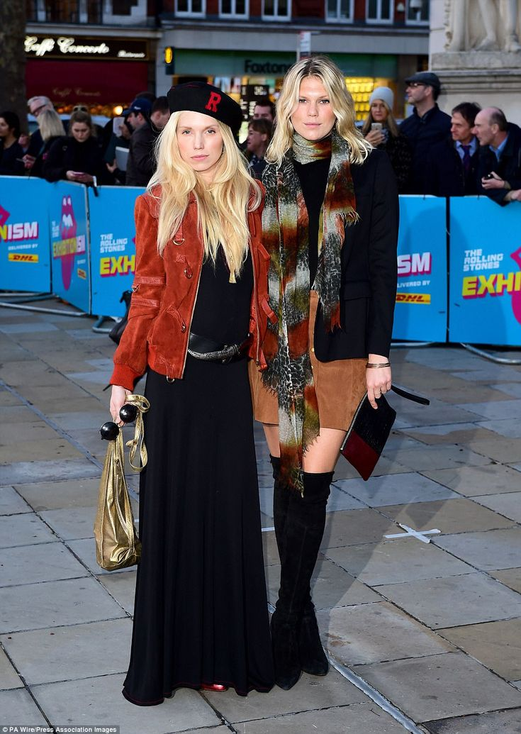 Rock royalty:Previous occupants of the building include Theodora and Alexandra Richards, ...