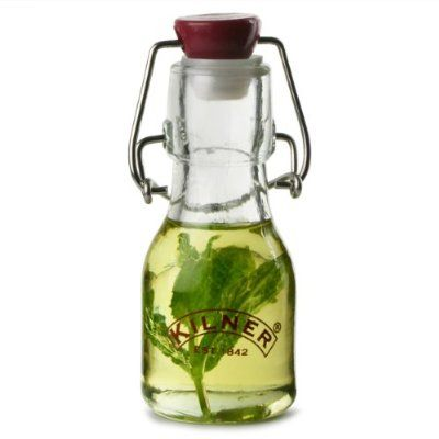 Kilner Mini Clip Top Bottles 70ml - Case of 12   Kilner Preservation Bottles, Swing Top Bottles, Glass Bottles:Amazon:Kitchen & Home