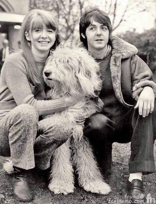Paul McCartney Jane Asher Martha My Dear English Sheepdog White Album