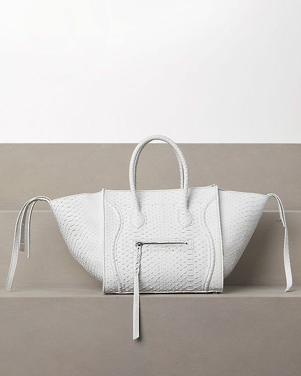 C��LINE 2012 Winter - Luggage Phantom in python white. Can someone ...