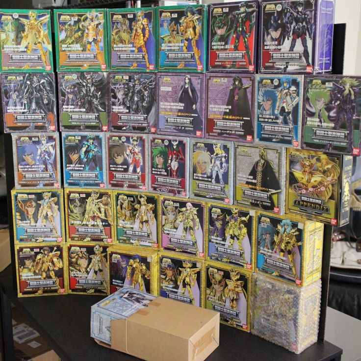 Huge Lot of 33 Saint Seiya Cloth Myth Collection by Bandai | eBay