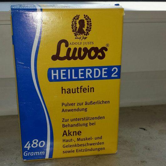 Test - Maske - Luvos Heilerde 2 hautfein – Testbericht von LovelyLisa