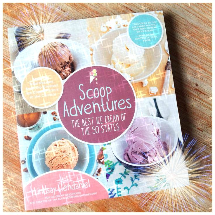 Cookbook Release Day!  Scoop Adventures: The Best Ice Cream of the 50 States is now available in bookstores across the country and online.  Order your copy now! / Congrats!!!