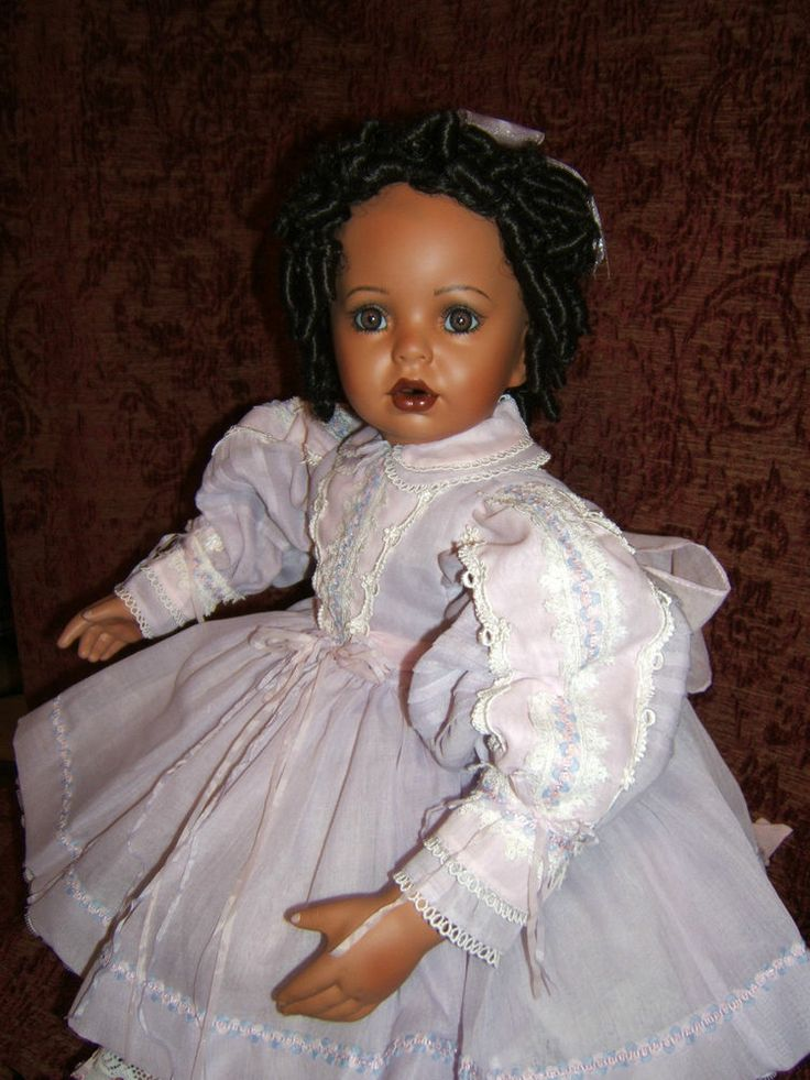 Whitney 29 Quot African American Porcelain Doll By Donna