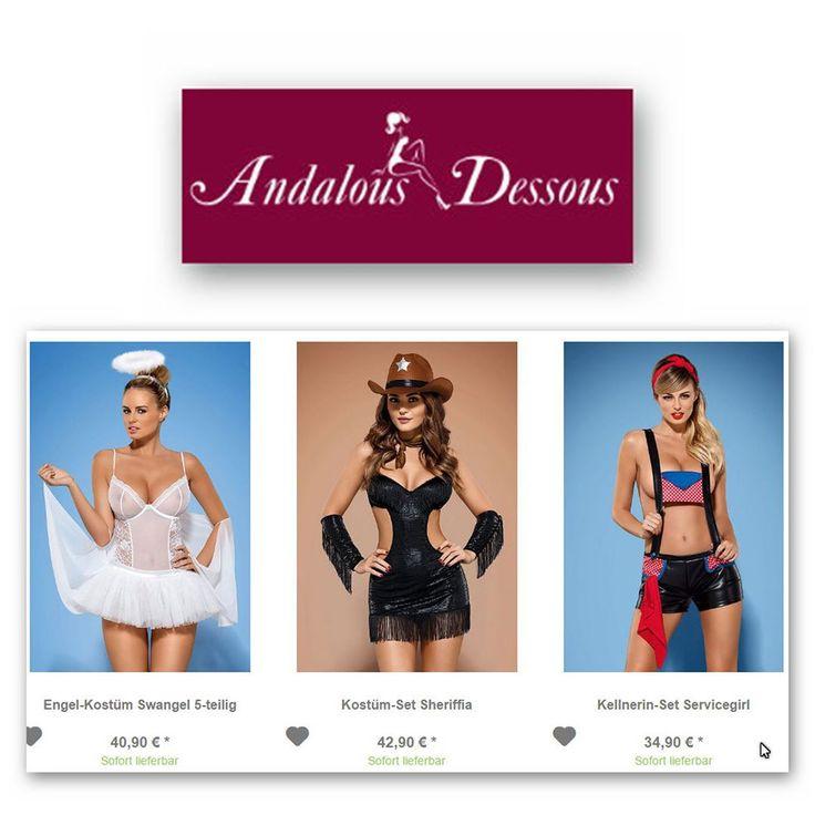 Willkommen bei andalous-dessous.de. Wenn man auf der Suche nach heißen Dessous aufregender Fashion oder verspielten Kostümen ist ist man bei uns genau richtig denn in unserem umfangreichen Sortiment bieten wir mehr als 10.000 Artikel zur Auswahl. Wir sind spezialisiert auf Lingerie und Reizwäsche haben aber auch eine vielfältige Auswahl an Basic-Unterwäsche im Programm. Unser Angebot richtet sich exklusiv an Frauen die auf der Suche nach etwas ganz Besonderem sind. Andalous bietet hier seit…