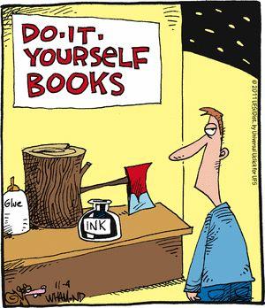 DIY Books (Reality Check by Dave Whamond, 11/4/11)