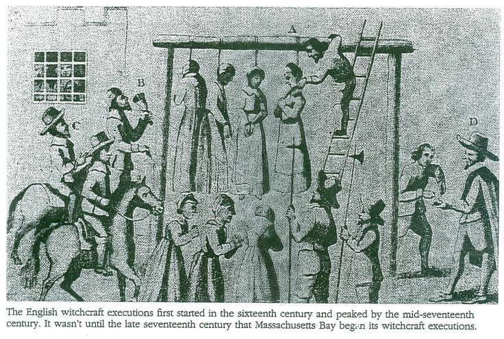 SALEM WITCH TRIAL HANGINGS | The McClaughry's Blog