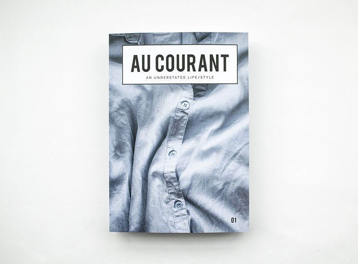 Now Available in Print - Au Courant Magazine 01