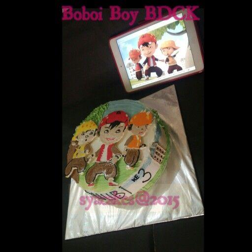 Boboi boy birthday cake