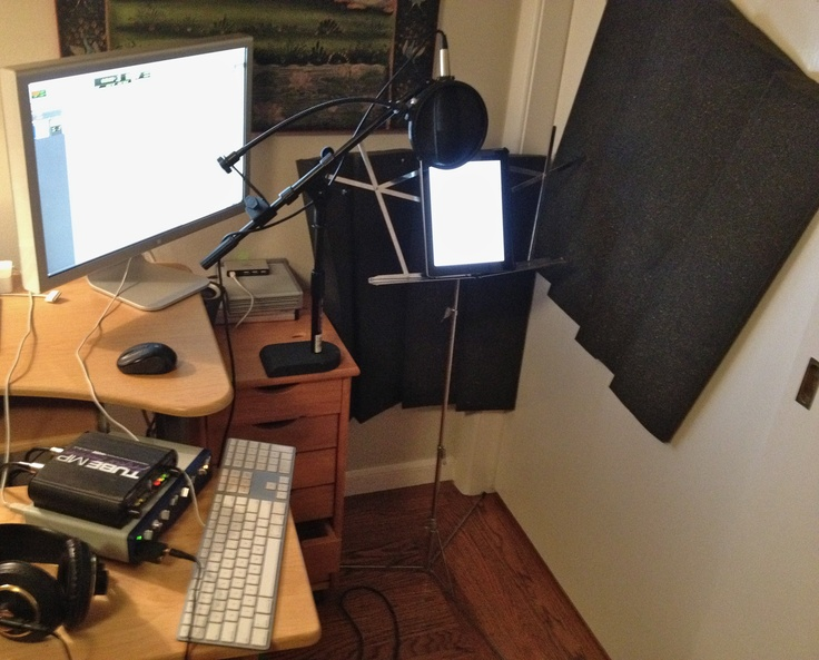 My apartment mobile recording studio :)