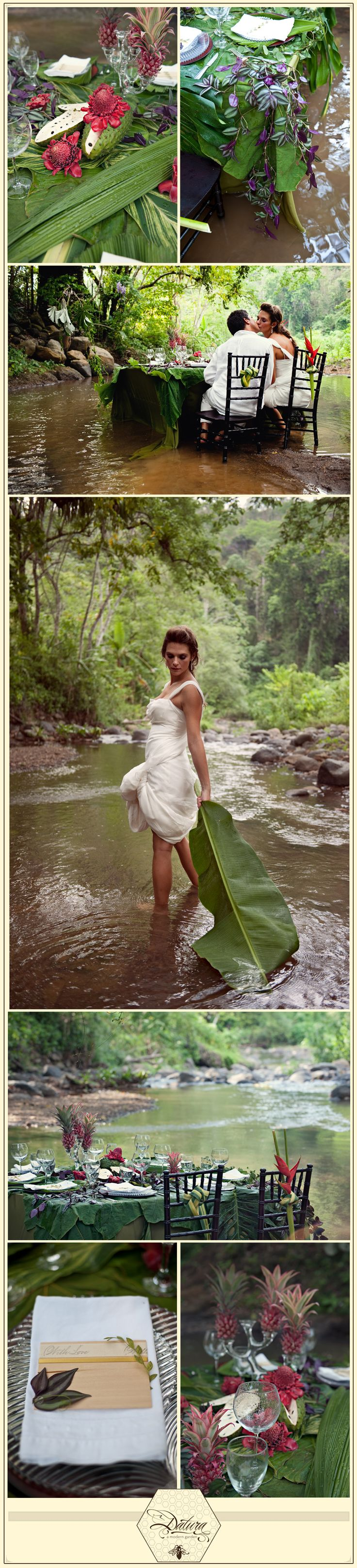 rain forest wedding anyone ???