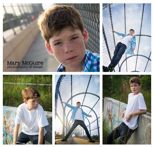 Mary McGuire Photography: Urban Pre Teen Photo Shoot (graffiti, overpass)