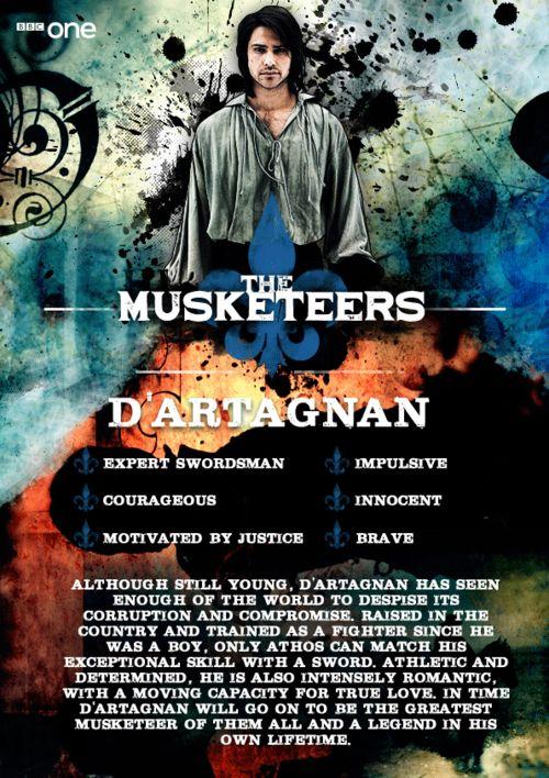 The Musketeers...D'artagnan