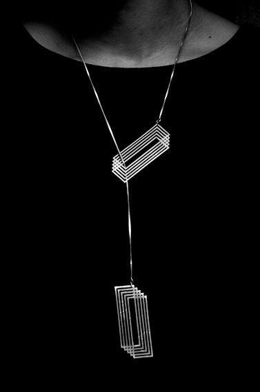 Cut by Yumi Endo | Cut necklace