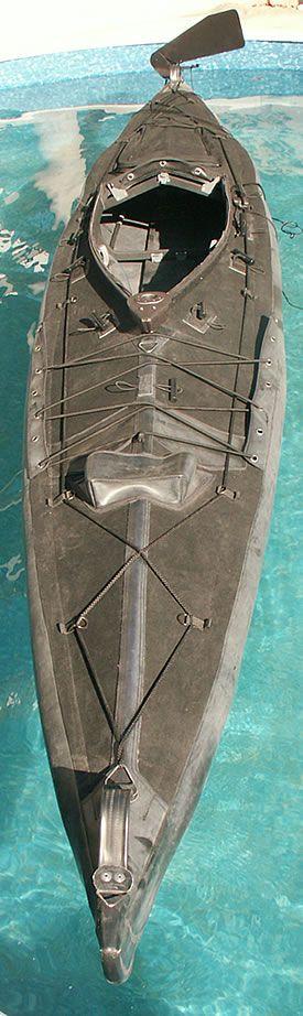 Mk I Achilli kayak - Wayland Folding Kayaks UK