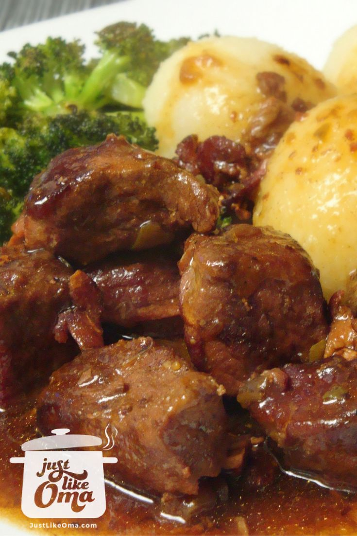 Flatladen that taste like rouladen, only easier to make and much less expensive. http://www.quick-german-recipes.com/beef-flatladen.html  ❤️ Like it! Share it!