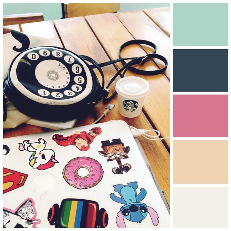 Working in cafés is one of my fav things :) #colourlovers #colorventures #mossomcolours #colourscheme #colourpalette