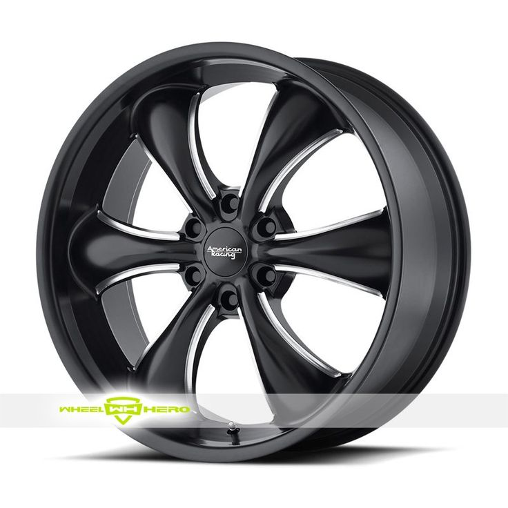 American Racing AR914 Black Milled Wheels For Sale & American Racing AR914 Rims And Tires