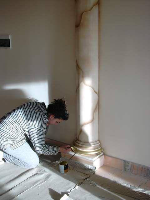 Dipingere artisticamente gli stucchi decorativi 3