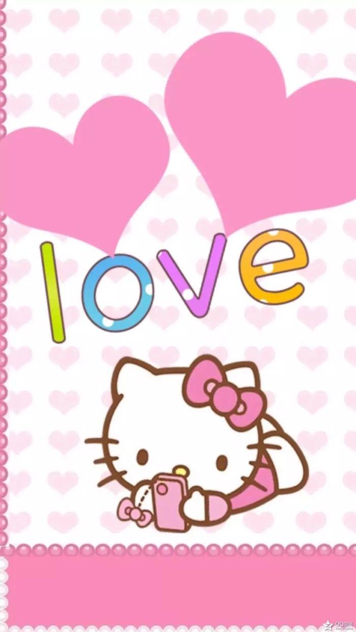 Pin Oleh Marisol Pg Di Wallpaper Hello Kitty Gambar