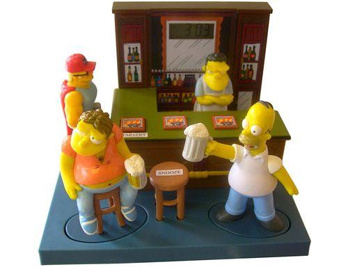 The Simpsons Moe's Tavern Talking Alarm Clock