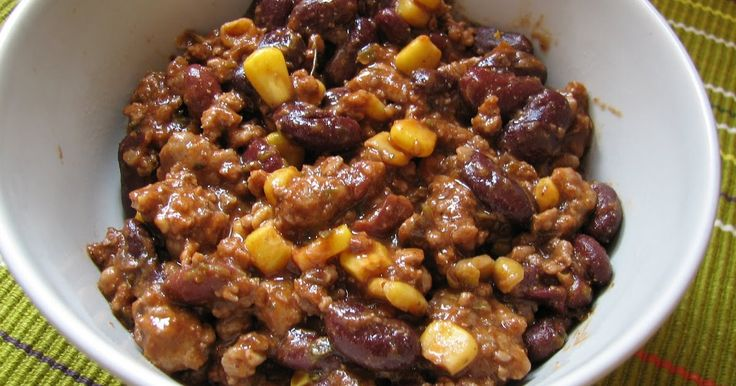Mandy kertje és konyhája : Chilis bab avagy chili con carne