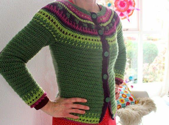45 best round yoke sweaters images on Pinterest   Blouses, Free ...