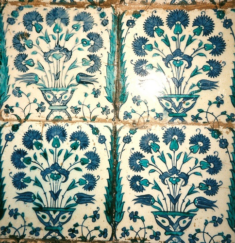 Iznik Tiles: The Harem ~ Topkapi Palace