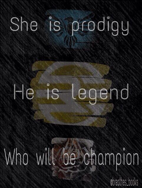 legend trilogy // marie lu