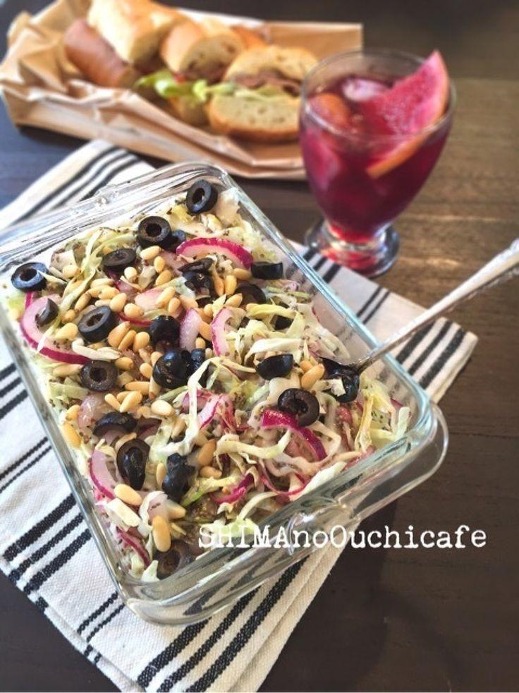 紫タマネギとキャベツとチアシードのマスタードマリネ by SHIMA | レシピサイト「Nadia | ナディア」プロの料理を無料で検索
