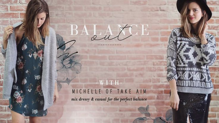 Mix Dressy & Casual with Michelle of Take Aim fashion fun