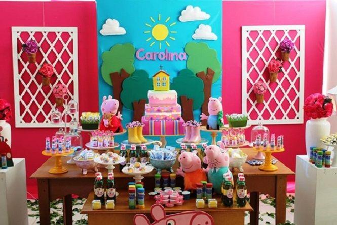 Decoração de festa infantil das princesas, peppa, monster high, para menino e menina! As melhores ideias para aniversário de criança!