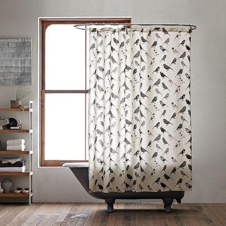 Retro Shower Curtain