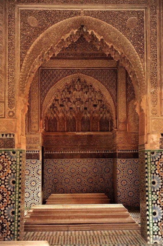 マラケシュ・サーディアンの墓宮 <モロッコ観光・旅行おすすめ見所>