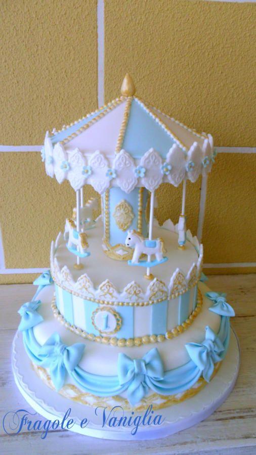 CAROUSEL CAKE - Cake by Sloppina in cucina