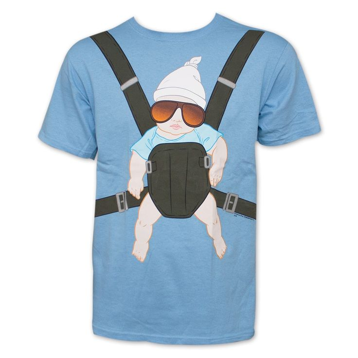 The Hangover Baby Carrier Light T-Shirt